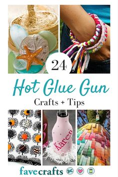24 Hot Glue Gun Crafts + Tips For Working With Hot Glue | FaveCrafts.com