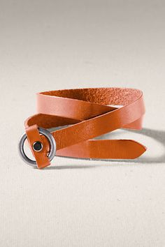 Desert clay double wrap leather bracelet #landsendcanvas