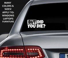 Im Only Speeding Cause I Really Have To Poop Funny Window Decal - Custom window clings for cars