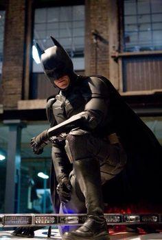 The Dark Knight - Publicity still of Christian Bale The Dark Knight Trilogy, The Dark Knight Rises, Batman The Dark Knight, Batman Vs Superman, Batman Art, Batman Room, Spiderman, Dc Comics, Batwoman