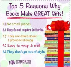 5 reasons to buy Usborne Books and More www.myubam.com/c4269