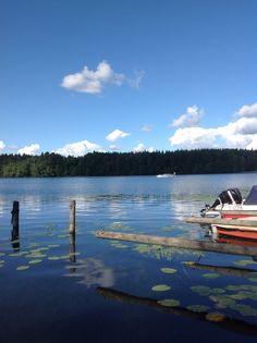 Möljän venesatama. Eura, Finland