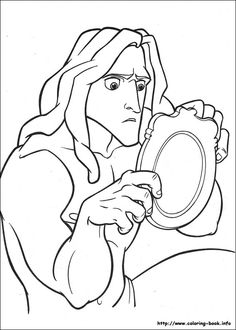 Tarzan coloring picture