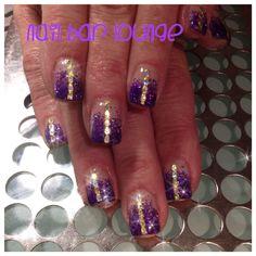 String of Lights #nails #nailart #naildesign