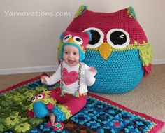 Crochet Owl Projects - lots of great ideas in our post including FREE Patterns