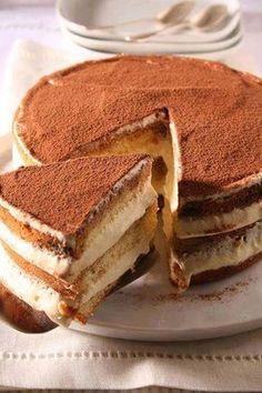 Pour passer un bon gateaux, nous vous proposons une recette de Gateau Tiramisu . recette de cuisine, facile et rapide, par Les gourmands mediterraneens
