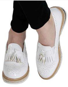 ΝΕΕΣ ΑΦΙΞΕΙΣ :: Flatform Oxfords Love & Leatherish White - OEM Baby Shoes, Oxford, Sneakers, Clothes, Black, Fashion, Tennis, Outfits, Moda
