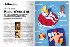 FELT! Editorial Illustrations - Vol. 1 by Jacopo Rosati, via Behance
