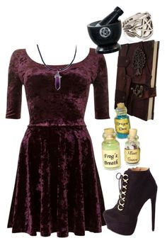 """Wicca"" by piercethenikki ❤ liked on Polyvore"