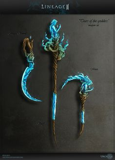 Magic Weapon set Lineage 2 by Urchina.deviantart.com on @DeviantArt