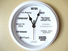 Hey, I found this really awesome Etsy listing at https://www.etsy.com/listing/217470764/geek-nerd-clock
