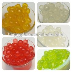 Source Fruit juice ball popping boba,popping balls for bubble tea drink on m.alibaba.com