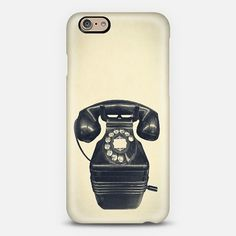 Old Telephone - #Casetify  | Dogford Studios
