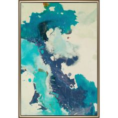 """Wall art EXHALE has quickly become a best-selling item due to it's scale, color and warm metal frame. #4223.  58"""" x 41"""" #candiceolson #paragonpg"""