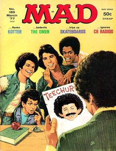 MAD  Magazine  Welcome Back Kotter Issue.....