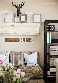 Spring Home Tour Living Room Decor Organization