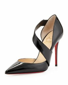$945 Christian Louboutin Palais Royal Red-Sole Platform Pump ...
