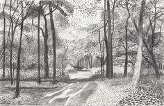 2010s : Drawings : Works | David Hockney