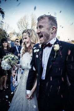 Reem Acra for a Fashionable Bride and her Stoke Place Wedding. Photography by www.contemporary-wedding.com