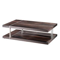 Bellini Cameron Coffee Table - BELL-CAMERON. Bellini Cameron Coffee Table - BELL-CAMERON Black Sandal veneer (top and bottom) Product Specifications Dimensions 28 D x 47 W x 14 H (inches) Item Weight 64 lbs. Metal dividers Rectangular 2-level coffee table Usually shi.. . See More Coffee Tables at http://www.ourgreatshop.com/Coffee-Tables-C659.aspx