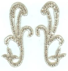 Check out the deal on 1107 iron on or sew on Rhinestone Applique at Glitz and Glamour
