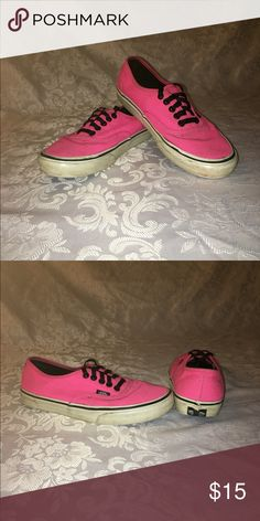 67877e51c55a6b Shop Women s Vans Pink size 8 Shoes at a discounted price at Poshmark.  Description  I m selling used pink vans sorry guys but they re super dirty  I ve tried ...
