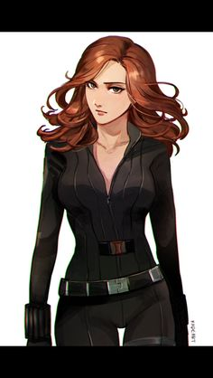 Unfortunately, I don't know where this is from or who its by and the link leads nowhere. It's a simple but great Natasha Romanoff / Black Widow bit of fanart, though.