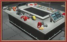 SynapticSim's Lair - Comic and Sims Fans Robot Factory, Iron Man, Sims, Superhero, Image, Iron Men, Mantle, The Sims
