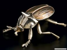 High Hopes - Sterling Silver Ant - 8 inches