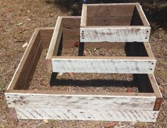 Garden Envi handcrafts many garden features including this 3 tier wood planter box.  A tiered timber planter will make a lovely feature in your garden.  Square vintage shabby chic in style this planter is now available.  Located in Rochedale, near Brisbane, QLD.
