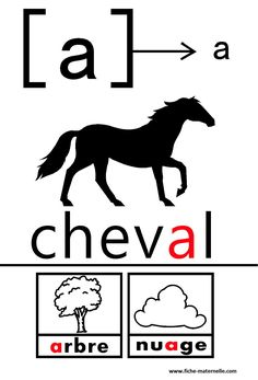mini-posters illustrating vowel sounds in French French Basics, French For Beginners, French Education, Kids Education, How To Speak French, Learn French, Synthetic Phonics, Maternelle Grande Section, Vowel Worksheets