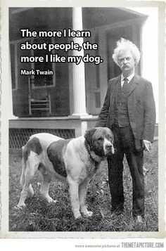 Mark Twain makes a legit point…