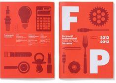 Campanya Formació Professional a Terrassa 2012 | Txell Gràcia | disseny gràfic |Barcelona — Designspiration