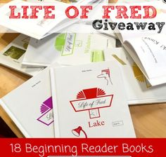 LIFE OF FRED BEGINNING READER COMPLETE SET GIVEAWAY! ($85 Value!) from sponsor @educents!! #homeschool #lifeoffred