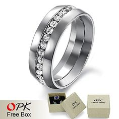 GLucky : Fashion Ring NEW STYLE lovers titanium steel ring couple ring 361 *** Learn more by visiting the image link.