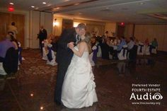 """Chris and Katie chose Chris Cornell's """"Finally Forever"""" for their romantic first dance. Wedding Dj, Wedding Reception, Dj Pro, Chris Cornell, Photo Booth Props, Chicago Wedding, First Dance, Banquet, Romantic"""