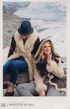 Odd olly furs in Brigitte Germany, November 2011