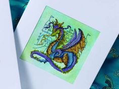 Dragon dreams | Cross Stitching  Do you love dragons? If you do, start stitching this magical design today - it's packed full of detail! FREE CHART