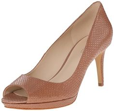 Nine West Women's Gelabelle Leather Dress Pump *** Continue to the product at the image link.