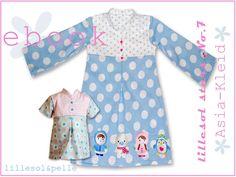Ebook / Schnittmuster lillesol stars No.7 Asia-Kleid (MacDatei)