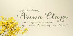 Anna Clara - Webfont & Desktop font « MyFonts