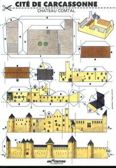 Cardboard Model, Cardboard Crafts, Foam Crafts, Origami Templates, Box Templates, Paper Structure, Paper Furniture, Paper Architecture, V & A Museum