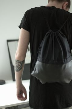 #black #diy #playstation #gymbag #sewing #craft
