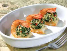 Cool looking shrimp appetizer!
