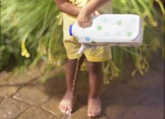 Marielle loves watering cans and she loves gardening. She'll have a blast making her own!