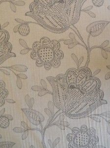 Patterned extra wide curtain fabric | Livingstone Textiles