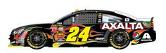 #24 Jeff Gordon won pole @Michigan w/blazing speed of 206mph(tied fer 7th all time fastest speed)less than 40 seconds @this 2m track,39.9seconds,WOW!! WHITE KNUCKLE DRIVING SPEED