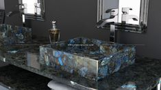 Electric Midnight Labradorite Bathroom, MY GOODNESS