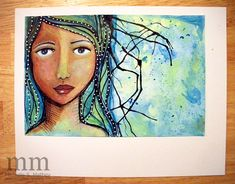 Interview with Michelle Mathey on Julie Fei Fan Balzer's blog --I love Michelle's work.....