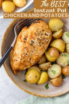 How to Make Chicken and Potatoes in the Instant Pot